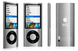 MP3 iPod nano 8gb Silver, плеер МП-3 iPod nano 5Gen 8gb Silver MC027QB/A