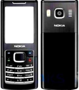 Housing for mobile phone Nokia 6500c, mobile phone corps nokia 6500c